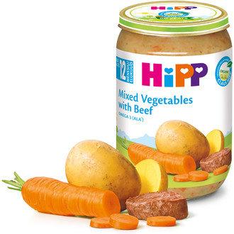 БИО Зеленчуци с телешко месо 220 гр. 12 м. +